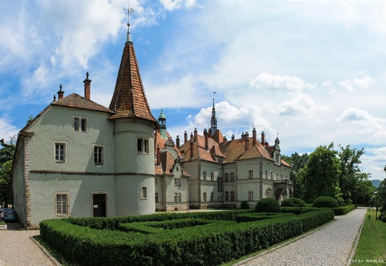 Schonborn Castle-Palace, Mukachevo, Zakarpattia, Ukraine, photo 1