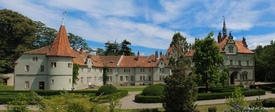 Schonborn Castle-Palace, Mukachevo, Zakarpattia, Ukraine, photo 2