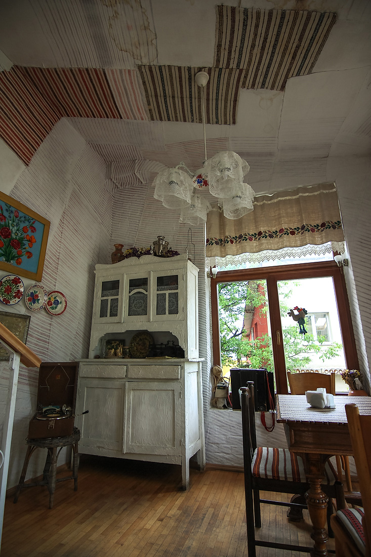 Amazing Restaurant With Antiques In Ivano Frankivsk