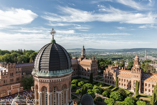 Chernivtsi National University - a view from above, Ukraine, photo 4