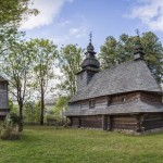 Church of the Holy Spirit in the village of Huklyvyi
