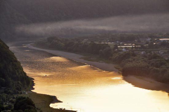 Summer evening on the Dniester River, Ternopil region, Ukraine, photo 2