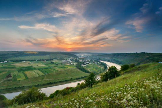 Summer evening on the Dniester River, Ternopil region, Ukraine, photo 6