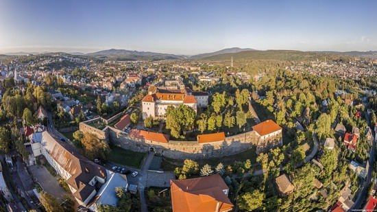 Uzhgorod Castle from above, Ukraine, photo 10