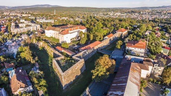 Uzhgorod Castle from above, Ukraine, photo 12