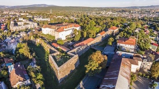 Uzhgorod Castle from above, Ukraine, photo 12
