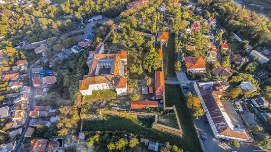 Uzhgorod Castle from above, Ukraine, photo 3