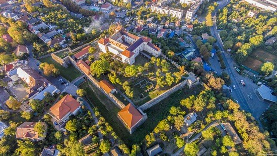 Uzhgorod Castle from above, Ukraine, photo 4