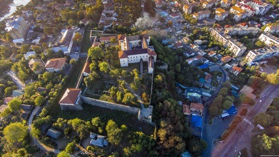 Uzhgorod Castle from above, Ukraine, photo 5