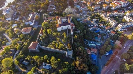Uzhgorod Castle from above, Ukraine, photo 5
