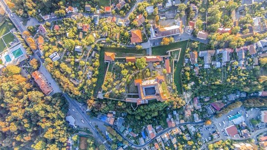 Uzhgorod Castle from above, Ukraine, photo 8