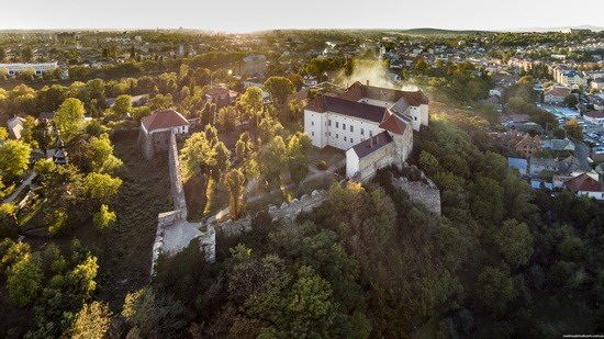 Uzhgorod Castle from above, Ukraine, photo 9