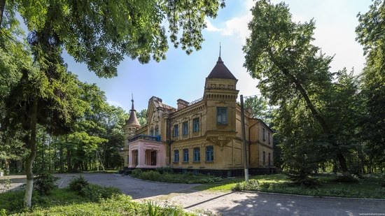Uvarova Palace in Turchynivka, Zhytomyr region, Ukraine, photo 1