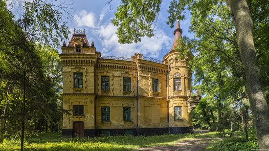 Uvarova Palace in Turchynivka, Zhytomyr region, Ukraine, photo 12