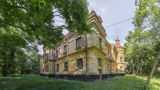 Uvarova Palace in Turchynivka, Zhytomyr region, Ukraine, photo 13