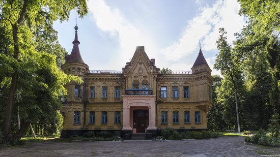 Uvarova Palace in Turchynivka, Zhytomyr region, Ukraine, photo 6