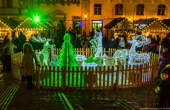 Christmas Fair 2016 in Lviv, Ukraine, photo 1