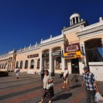 The monuments of Stalinist architecture in Zhitomir