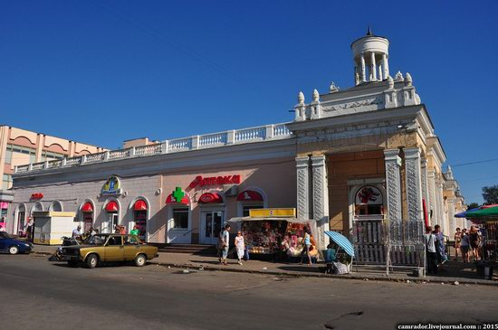 The monuments of Stalinist architecture in Zhitomir, Ukraine, photo 2