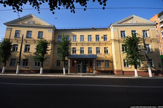 The monuments of Stalinist architecture in Zhitomir, Ukraine, photo 9
