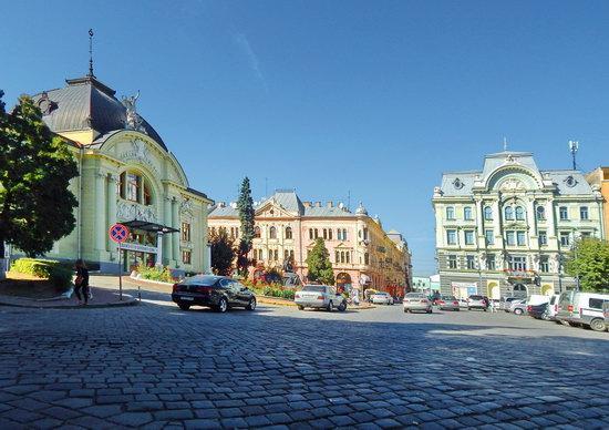 Chernivtsi city streets, Ukraine, photo 14