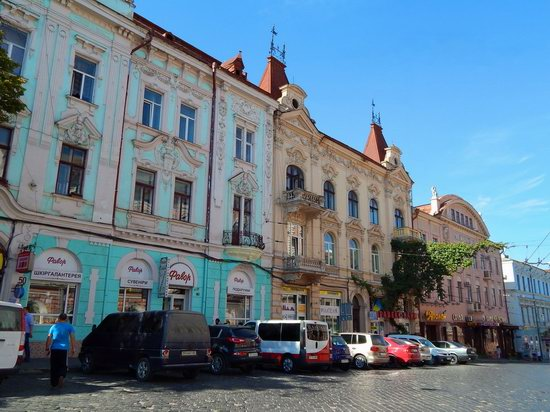 Chernivtsi city streets, Ukraine, photo 18