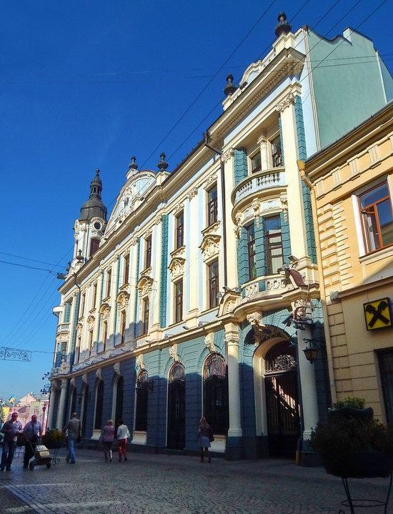 Chernivtsi city streets, Ukraine, photo 7