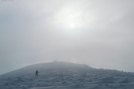 The mountain ranges of Gorgany in winter, Carpathians, Ukraine, photo 5