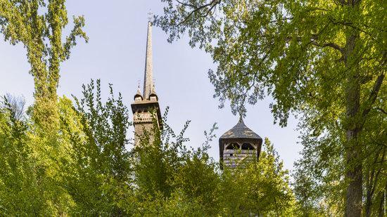 Gothic wooden church in Danilovo, Zakarpattia region, Ukraine, photo 3