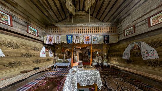 Gothic wooden church in Danilovo, Zakarpattia region, Ukraine, photo 8