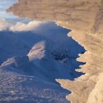 Snowy winter on Mount Pip Ivan