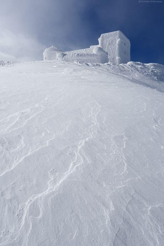Snowy winter, Mount Pip Ivan, the Carpathians, Ukraine, photo 10
