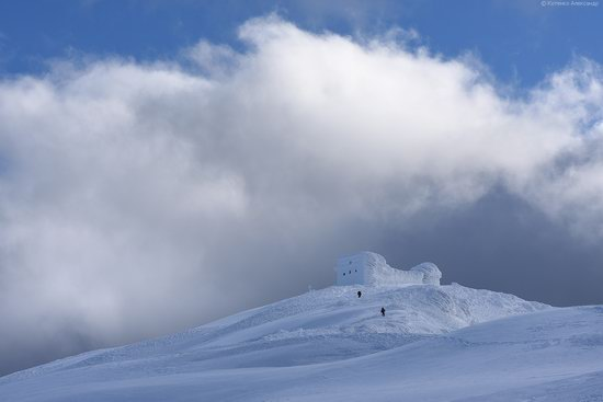 Snowy winter, Mount Pip Ivan, the Carpathians, Ukraine, photo 11