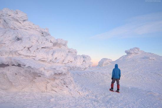 Snowy winter, Mount Pip Ivan, the Carpathians, Ukraine, photo 18