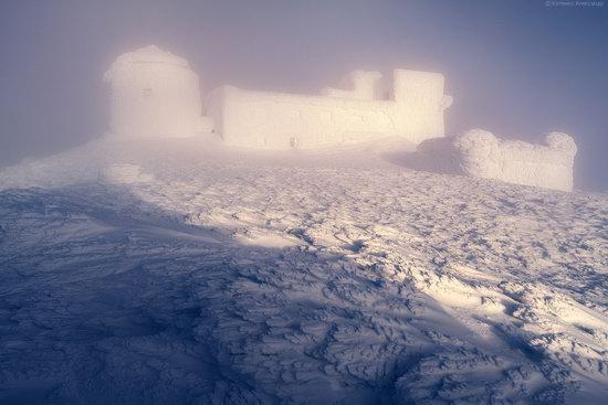 Snowy winter, Mount Pip Ivan, the Carpathians, Ukraine, photo 2