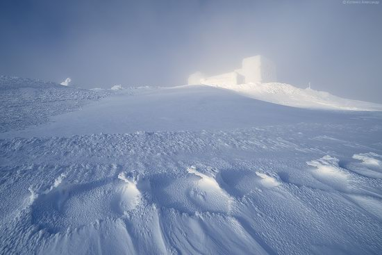 Snowy winter, Mount Pip Ivan, the Carpathians, Ukraine, photo 3