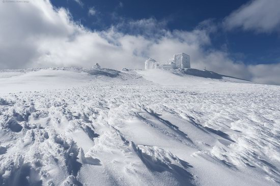 Snowy winter, Mount Pip Ivan, the Carpathians, Ukraine, photo 6