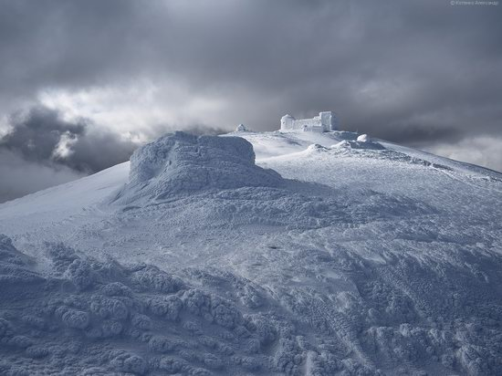 Snowy winter, Mount Pip Ivan, the Carpathians, Ukraine, photo 7