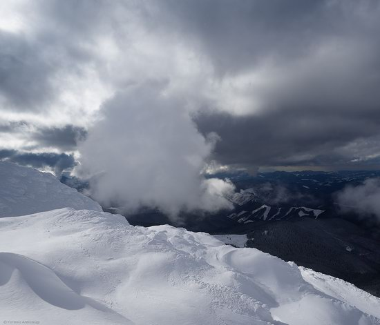 Snowy winter, Mount Pip Ivan, the Carpathians, Ukraine, photo 8