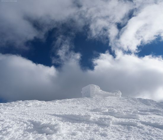 Snowy winter, Mount Pip Ivan, the Carpathians, Ukraine, photo 9