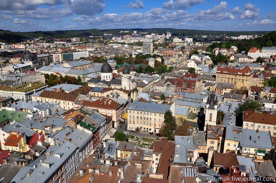 The roofs of Lviv, Ukraine, photo 10