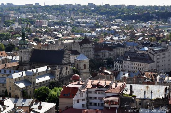 The roofs of Lviv, Ukraine, photo 18