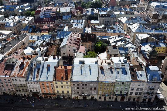 The roofs of Lviv, Ukraine, photo 20