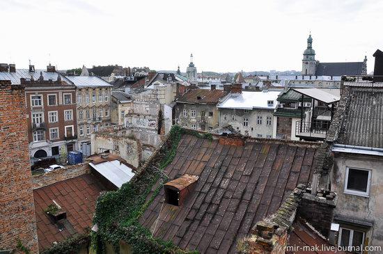 The roofs of Lviv, Ukraine, photo 25