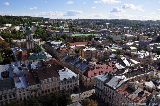 The roofs of Lviv, Ukraine, photo 6
