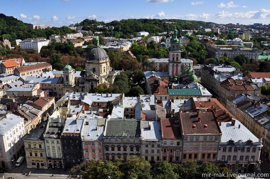 The roofs of Lviv, Ukraine, photo 7