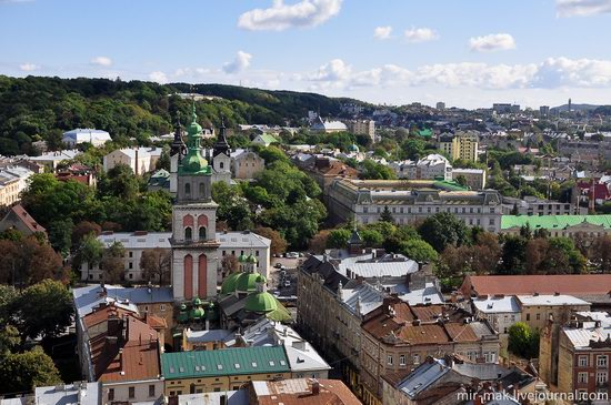 The roofs of Lviv, Ukraine, photo 8
