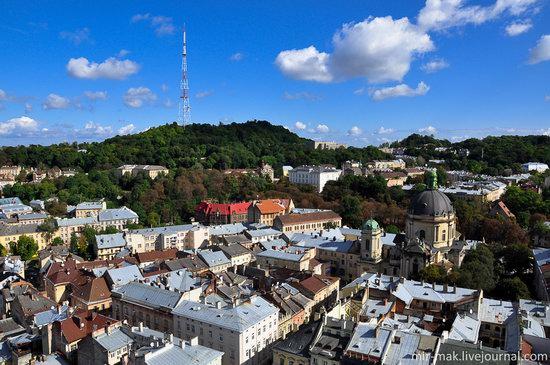 The roofs of Lviv, Ukraine, photo 9
