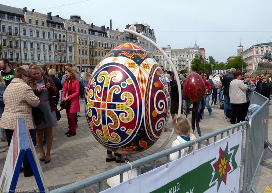 Easter eggs exhibition, Sophia Square, Kyiv, Ukraine, photo 1