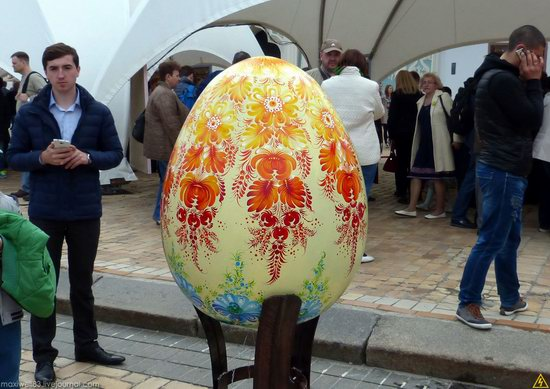 Easter eggs exhibition, Sophia Square, Kyiv, Ukraine, photo 10